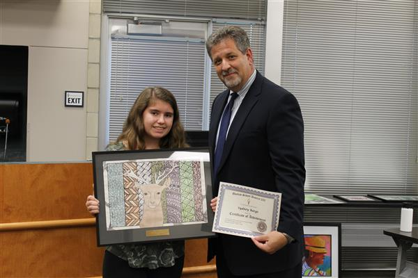 Student Art Award Winner