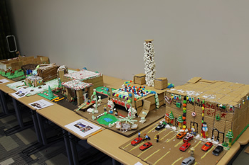 MCMS Participates in Gingerbread STEM Project