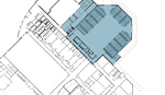 Thumbnail of MVHS site map with new gym detail