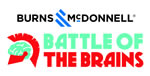 Burns & McDonnell Battle of the Brains graphic logo.