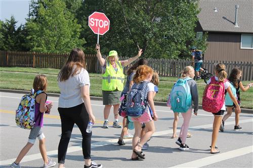 Now Hiring School Crossing Guards in Shawnee