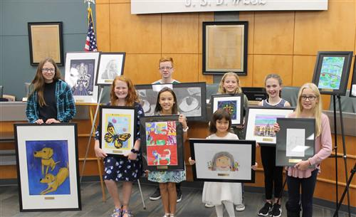 2019 Student Art Winners