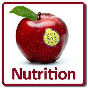 Graphic logo for USD 232 Student Nutrition Department